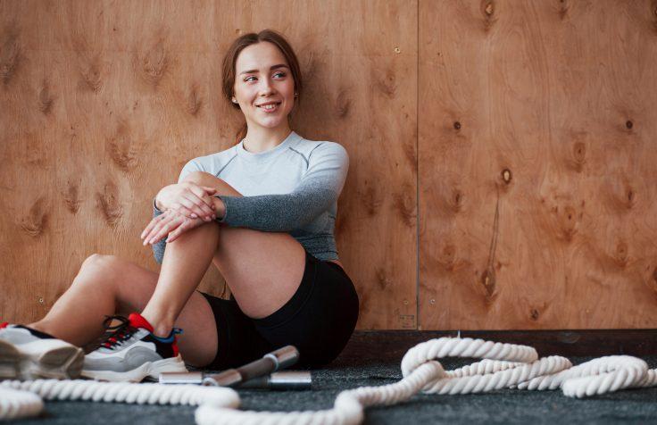 persona felice dopo attività fisica