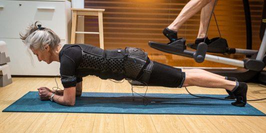 allenamento per anziani