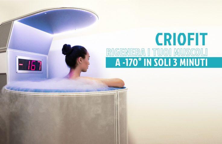 Ottieni benefici estetici, muscolari e psicologici con la Criofit